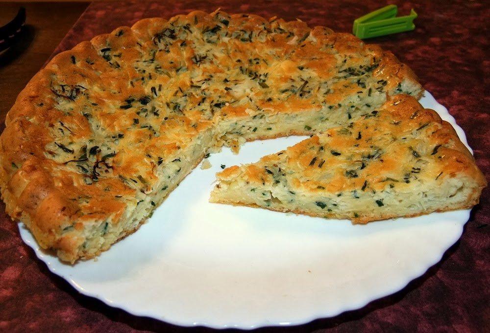 простой пирог из капусты рецепт