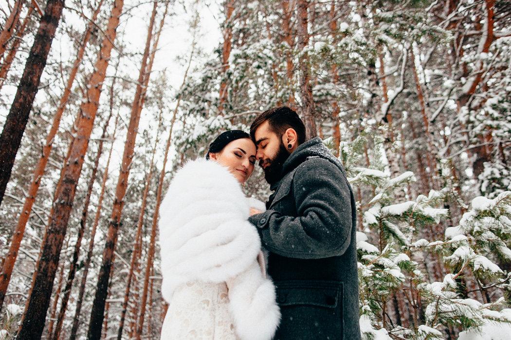 каталоге зимняя свадьба в лесу фото нем