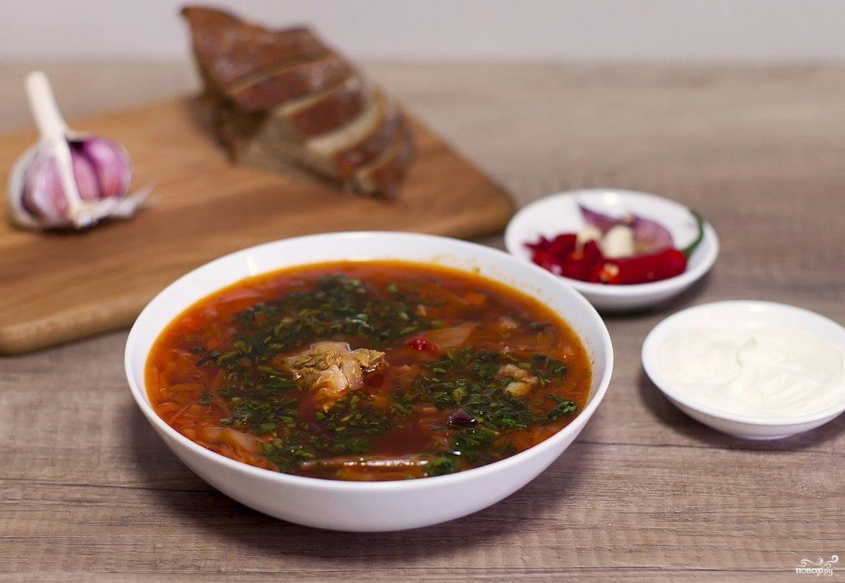 Рецепт супа с свининой