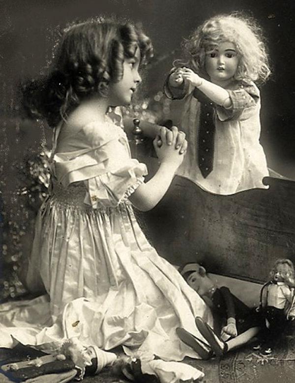 Фото открытки с куклами