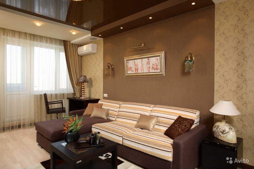 """Интерьер гостиной 18 метров с балконом фото """" улетный дизайн."""