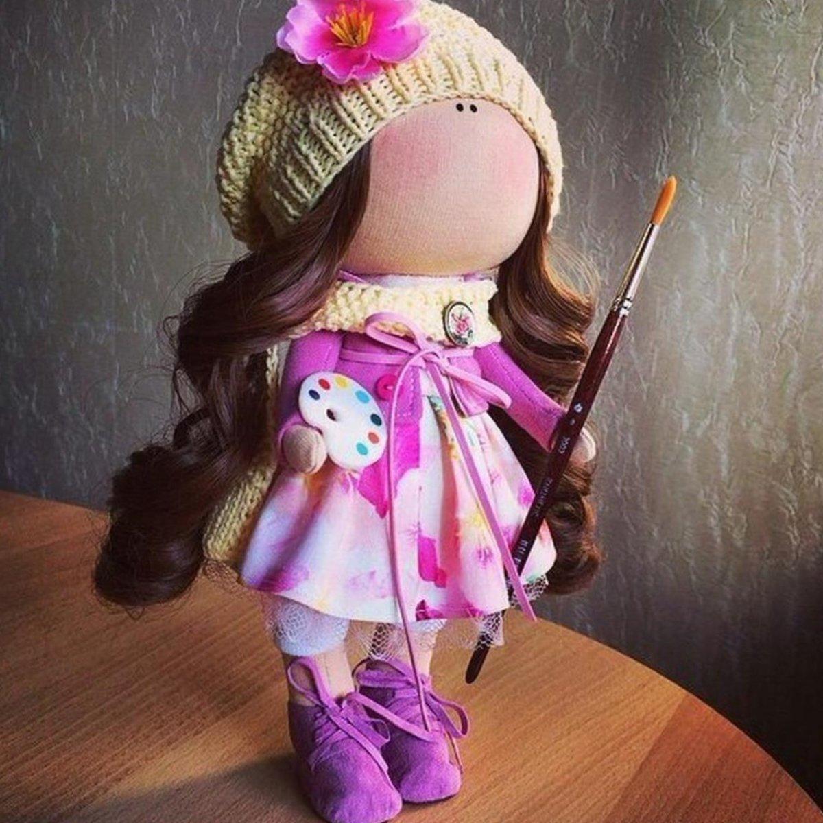 Как сшить интерьерную куклу своими руками фото 866