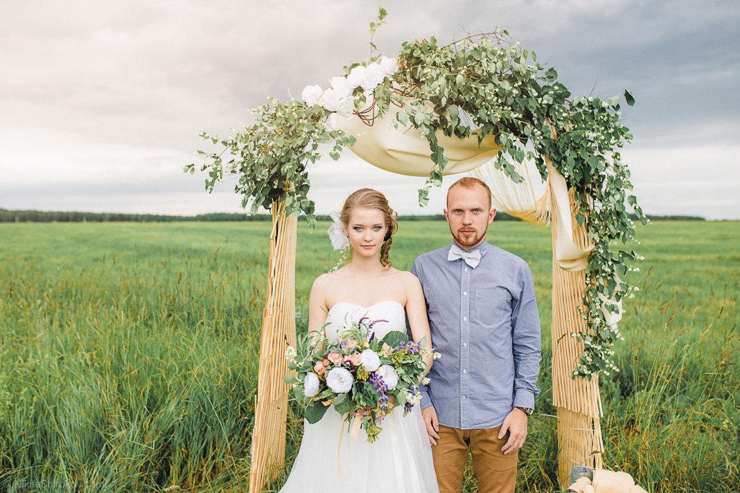 Свадьба в деревне фото