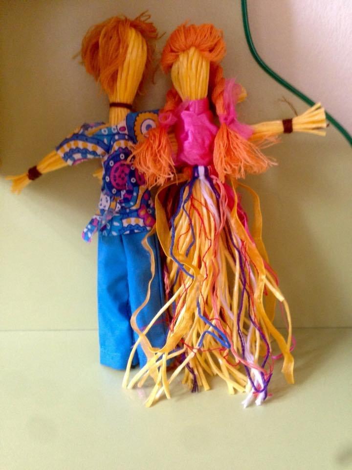 Куклы из ниток своими руками поэтапно 50
