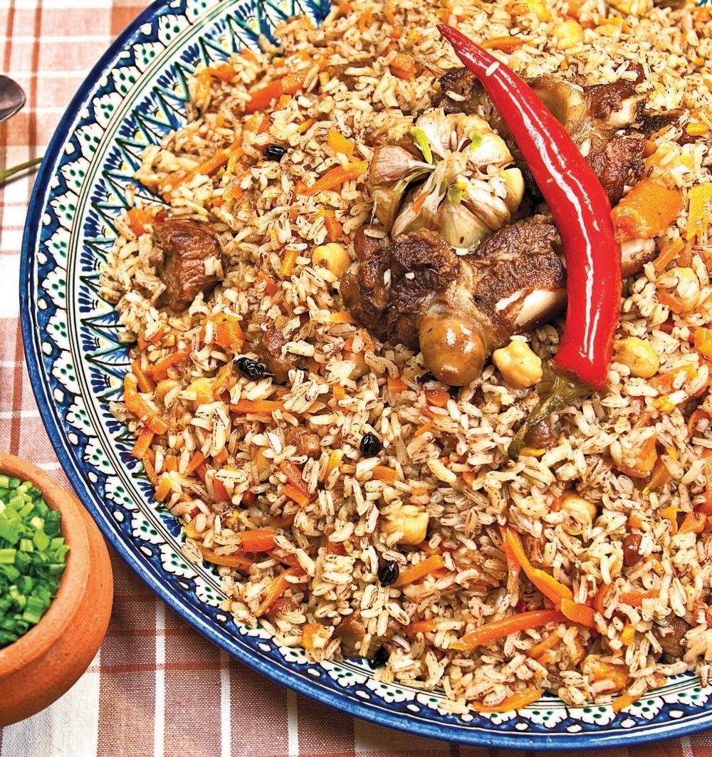 обеспечение меню узбекской кухни с фото пошагово слоями