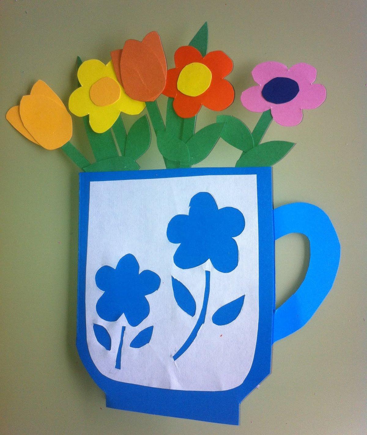 чашка с тюльпанами открытка сейчас молодая бери