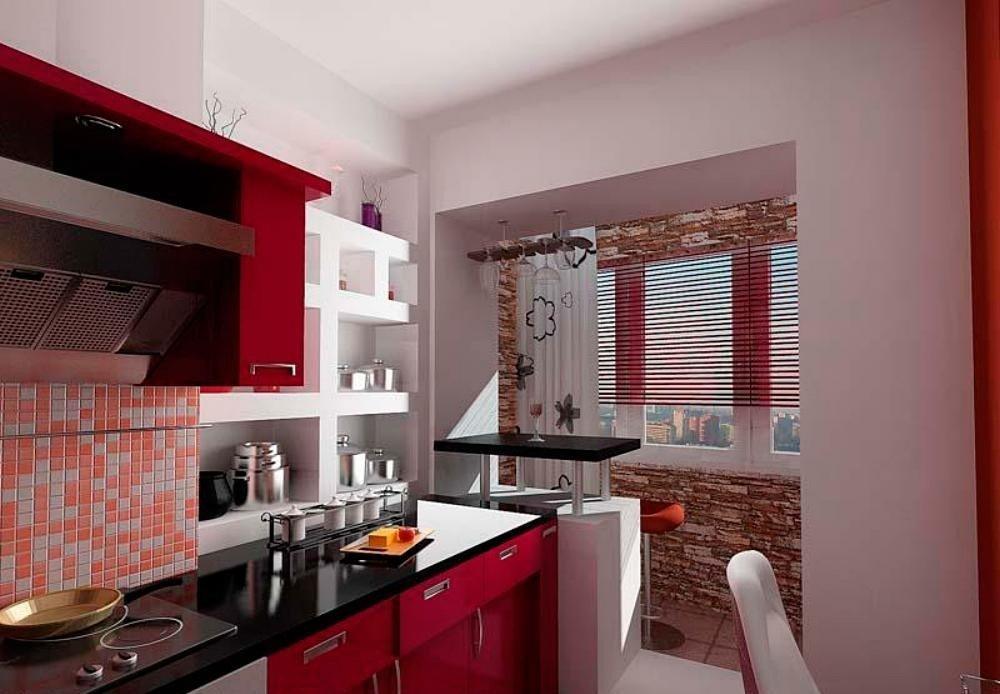 """Дизайн кухни с балконом фото"""" - карточка пользователя eliz.s."""