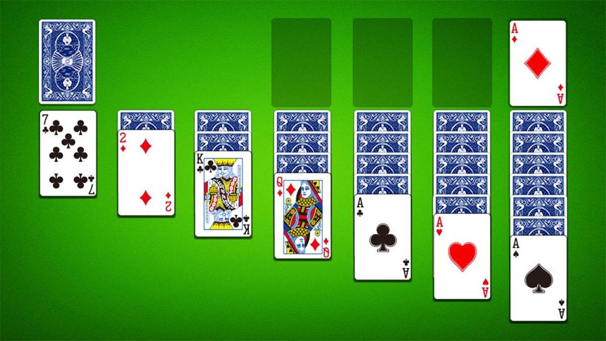 карточная игра пасьянс косынка бесплатно