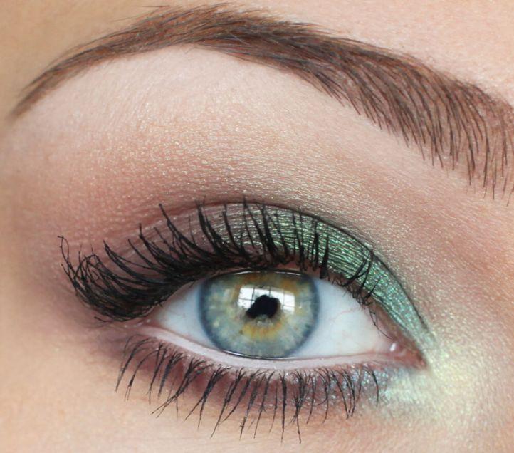 дневной макияж для зеленых глаз фото