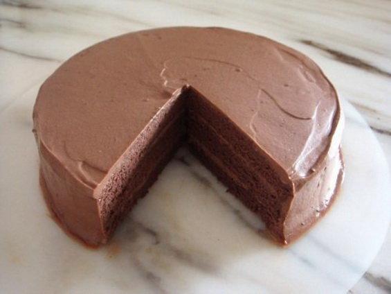 Шоколадный корж рецепт фото