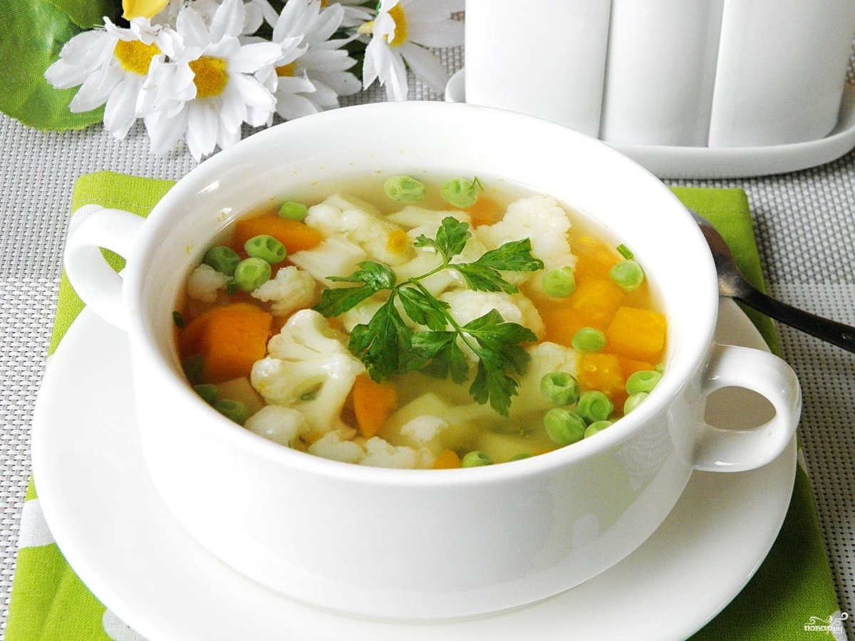 Диетические овощные супы рецепты с фото