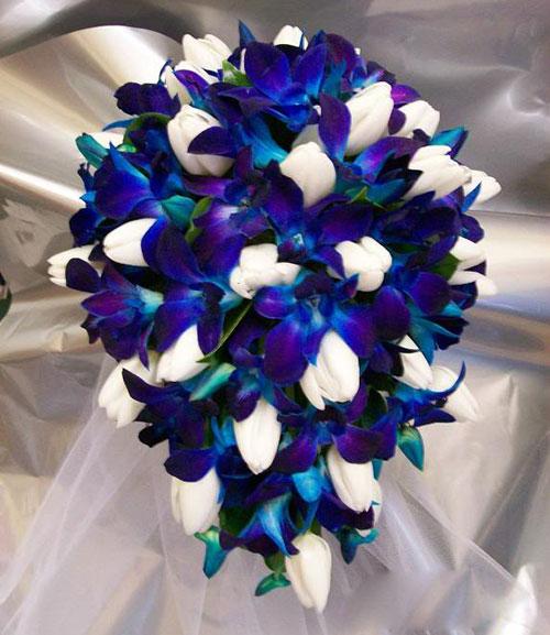 Лилии орхидея букет цветов — img 12