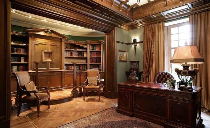 Как оформить дизайн домашнего кабинета