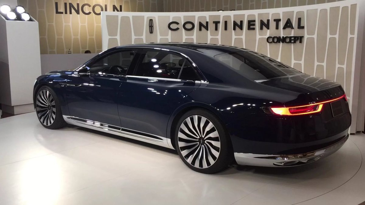 2017 Lincoln Town Car Concept 2018 World Info
