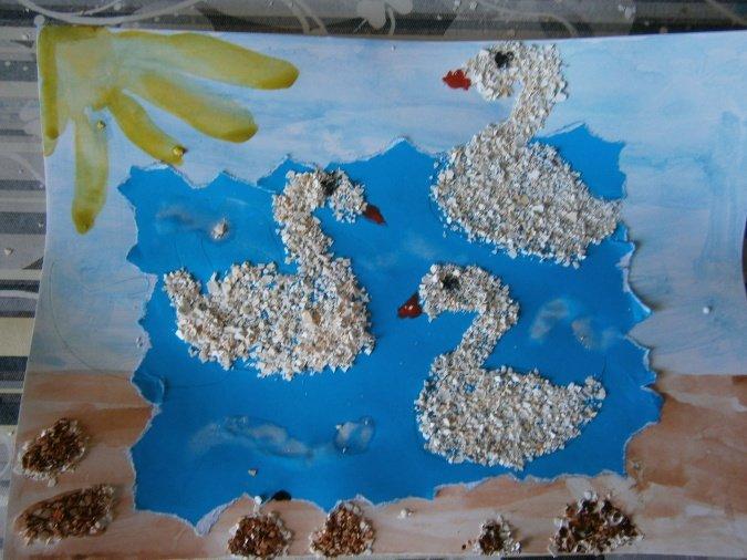 Плотный картон с фоновым цветом.в сказках различных народов часто можно встретить сюжет превращения птицы в девушку.