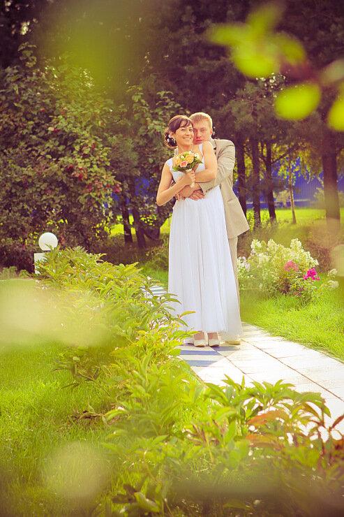 Солнечная и позитивная сентябрьская свадьба