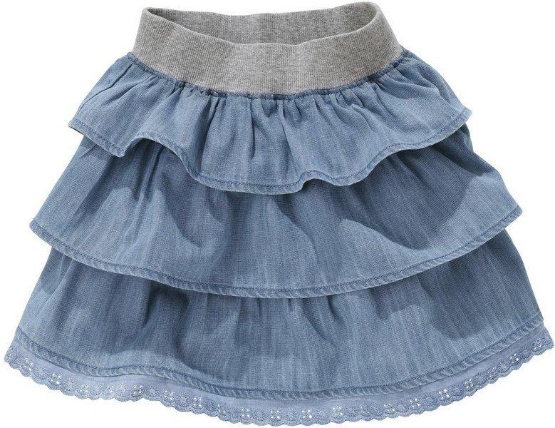 Шьём детям юбки