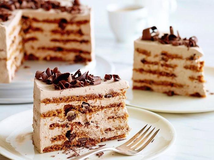 торт с домашним зефиром рецепт с фото