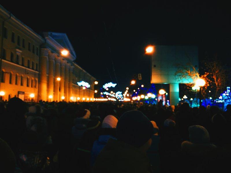 Новый год на Новособорной