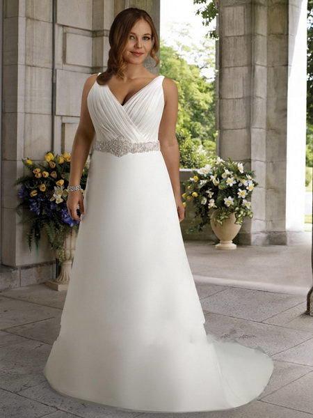 фото свадебных платьев для полных женщин расскажут