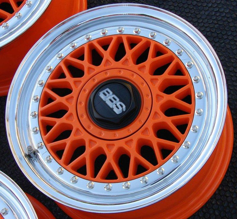 Оранжевые BBS RM