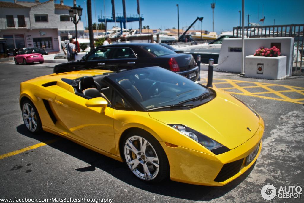 Lamborghini Gallordo Spyder Foto Card From User Aleksaleksalekss