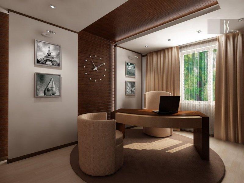 Если вы не готовы довольствоваться шаблонными решениями и хотите обустроить для себя идеальный домашний кабинет, вам на помощь придут профессиональные дизайнеры