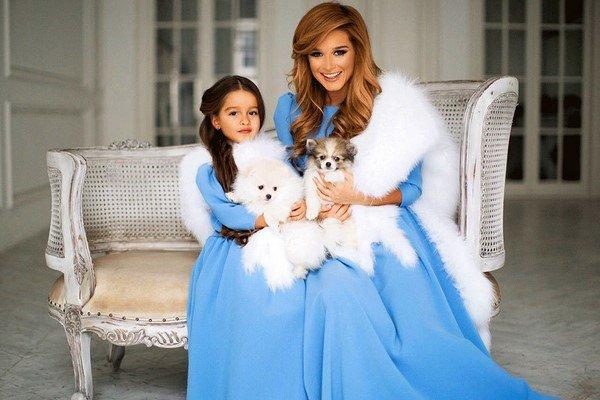 Платья мама и две дочки