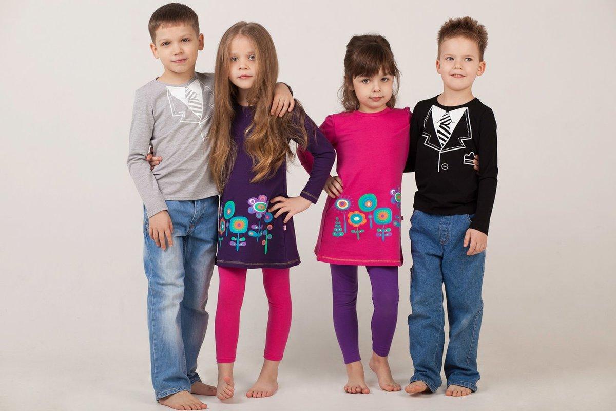 Открытки, картинки с детской одеждой рекламные