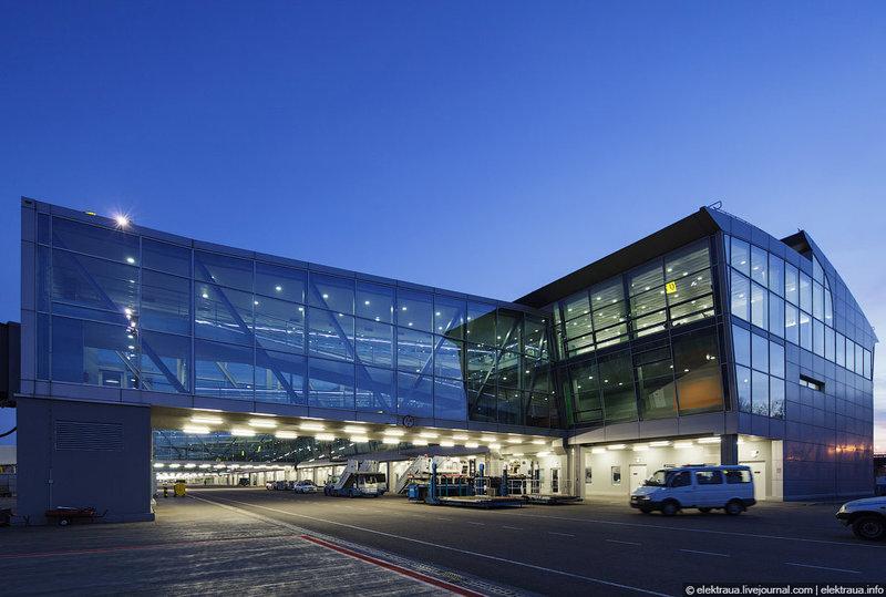 Аэропорт Борисполь.