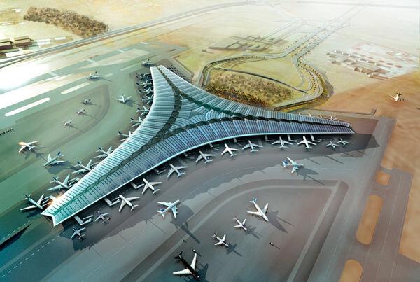 Foster + Partners- проект международного аэропорта в Кувейте