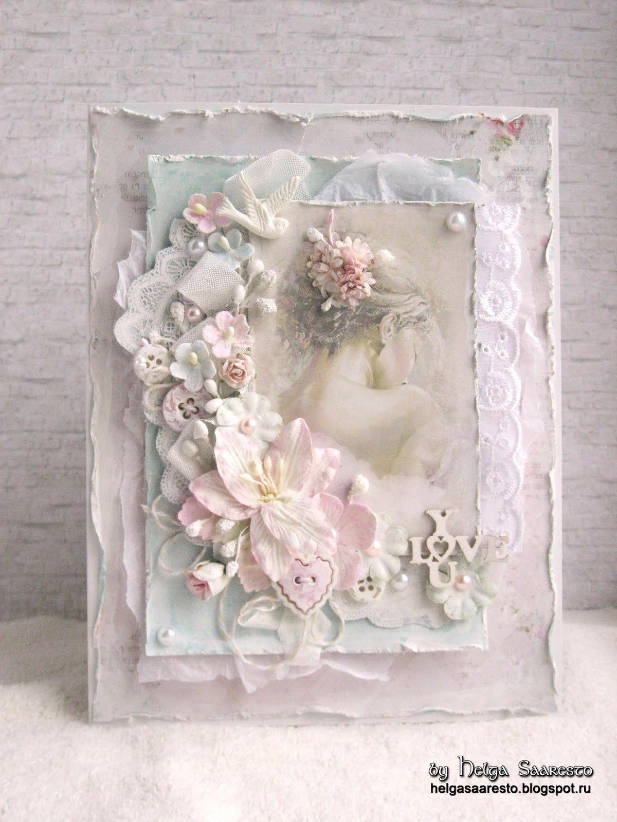Свадебная открытка шебби шик, картинки