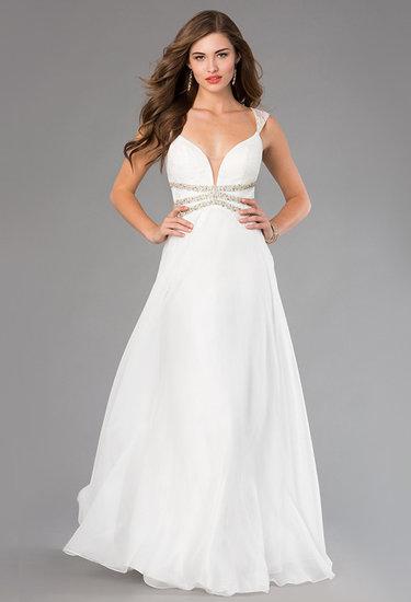 4b136a3a983 Коллекция «Белые длинные вечерние платья» пользователя infograce в ...