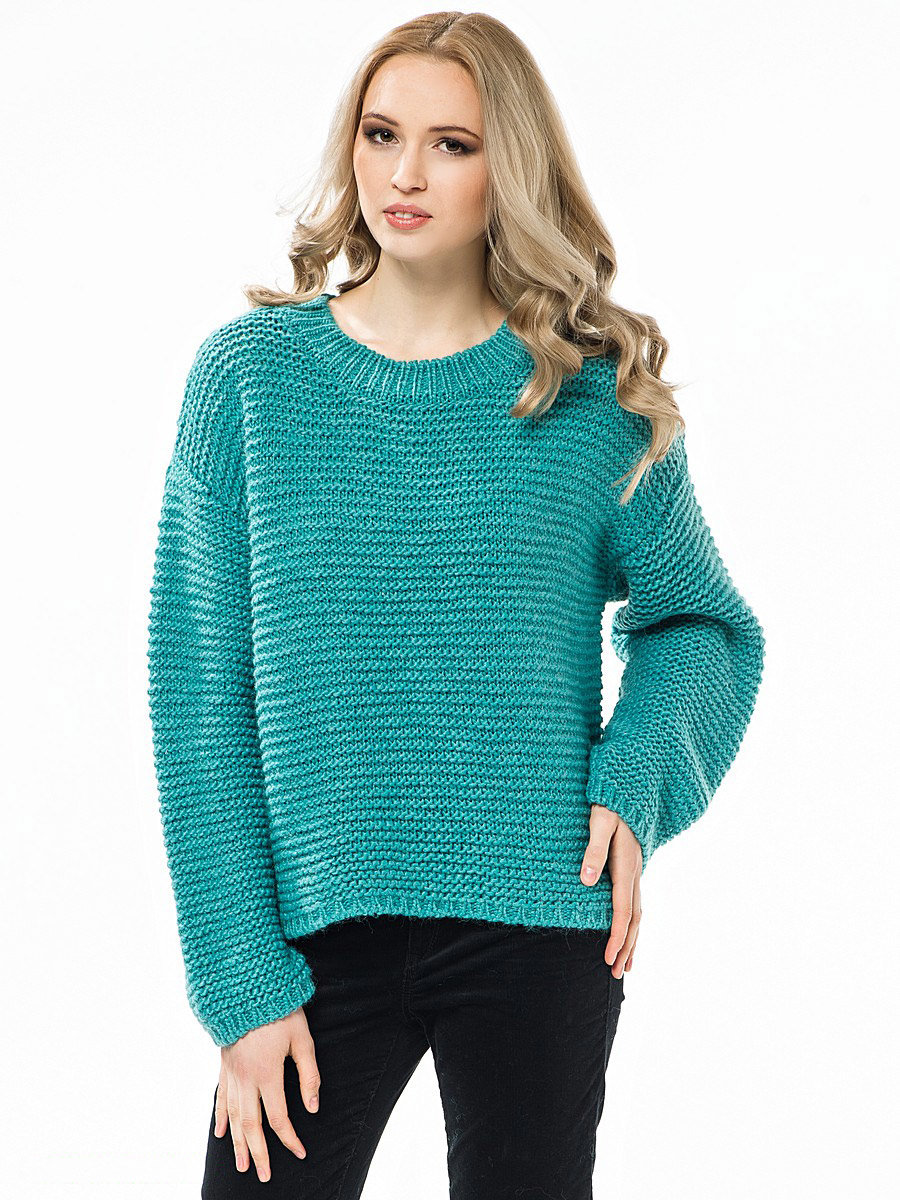 фото свободных вязаных свитеров положить