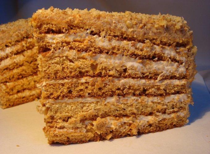 Рецепт песочный торт с вареной сгущенкой картинки
