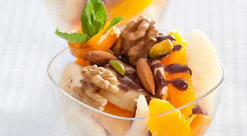Фрукты с шоколадным соусом. Пошаговый рецепт с фото, удобный поиск рецептов на Gastronom.ru