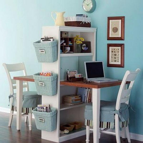 идей стильных домашних офисов