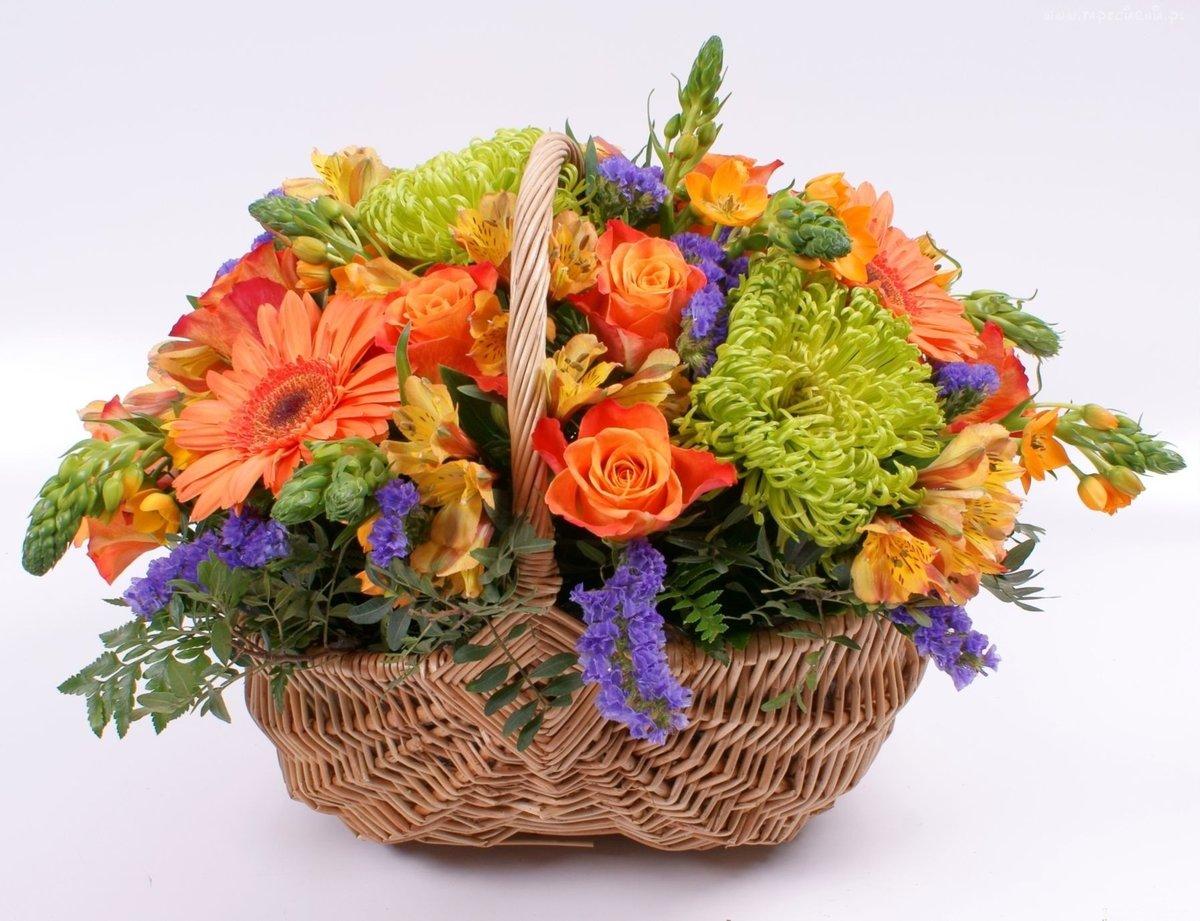 Композиция букета цветов, букетов