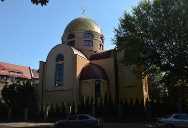 православный храм в щецине