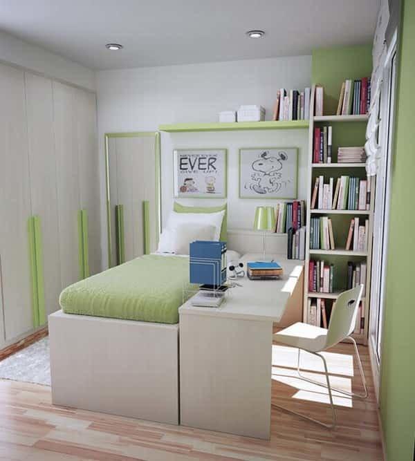 Дизайн интерьера маленьких комнат 53