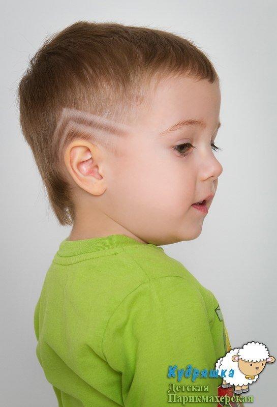 причёски для мальчиков 3 года фото