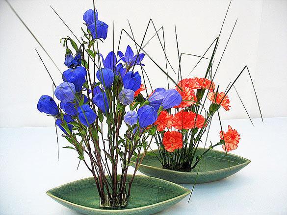 экибаны из цветов картинки