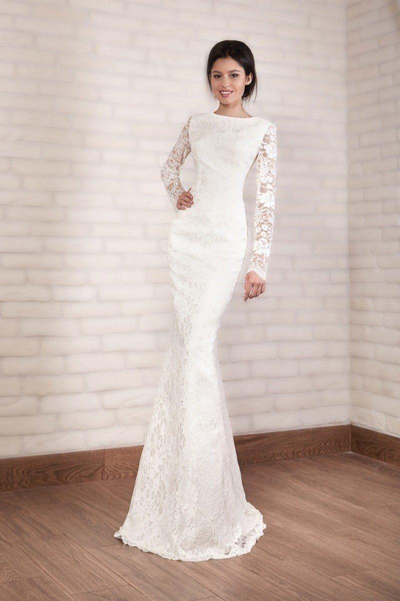 Свадебные платья облегающие