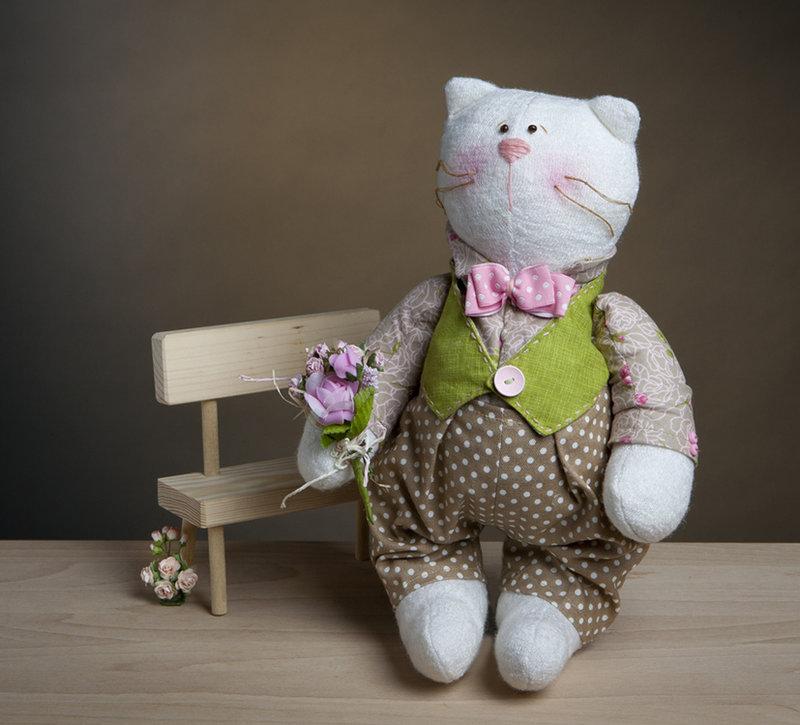Мягкая игрушка кот Антуан - Набор для изготовления мягкой игрушки ... Мягкая игрушка кот Антуан - Набор для изготовления мягкой игрушки своими руками.