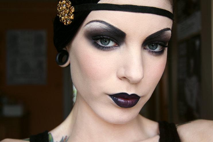 макияж в стиле 20-х годов фото