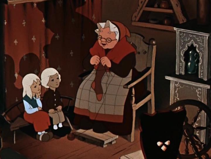Картинка старушки из снежной королевы