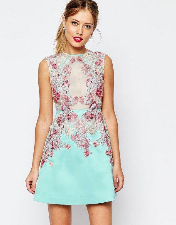 Красивые летние платья каталог