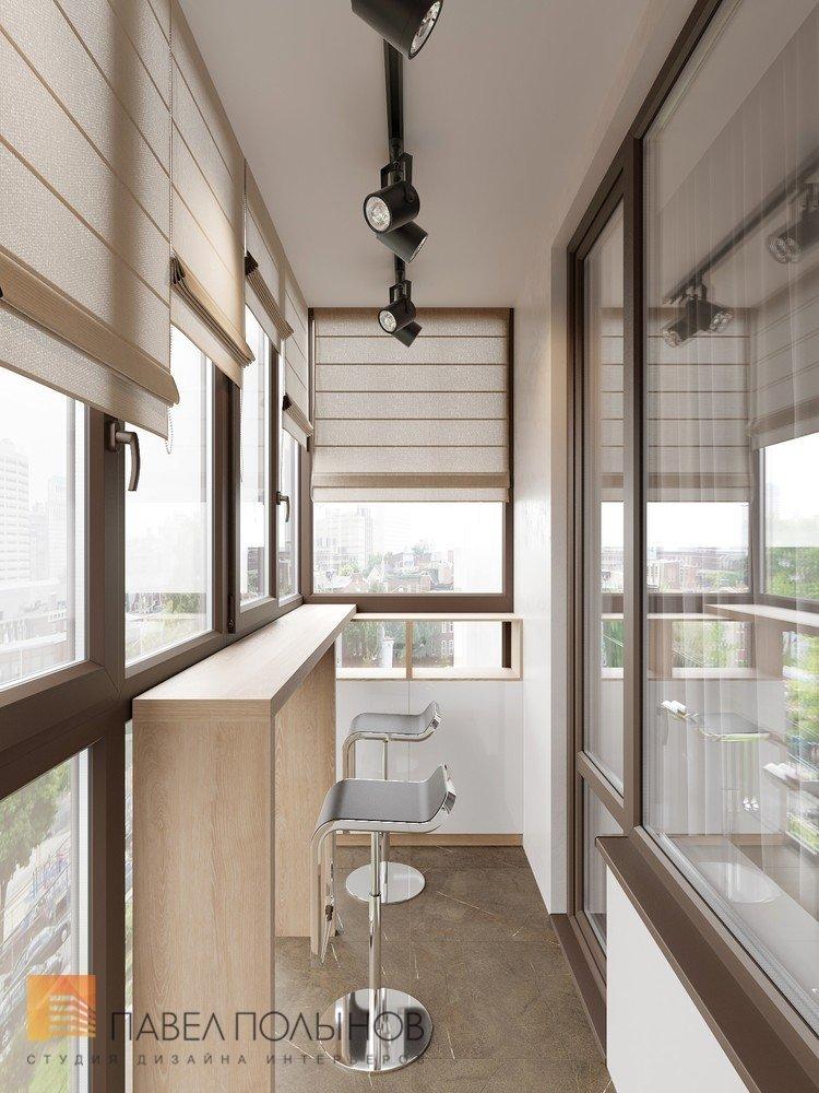 """Дизайн интерьера лоджии в проекте """"интерьер квартиры в совре."""