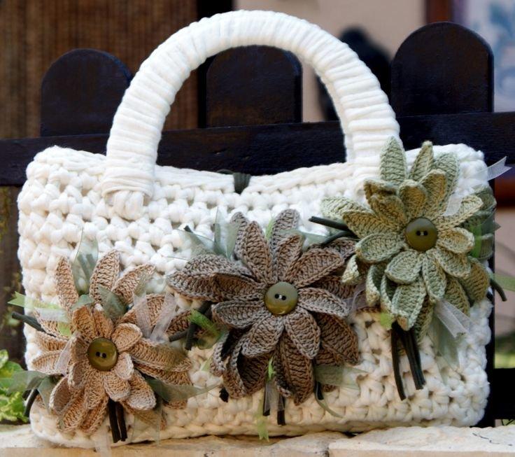 картинки вязанных сумок
