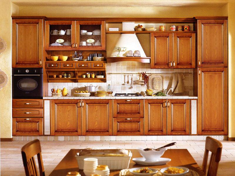 Кухни из дерева тюмень